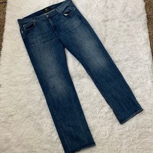7 For All Mankind Jeans - 7 FAM Austyn Luxe Medium Wash Size 40 Jeans
